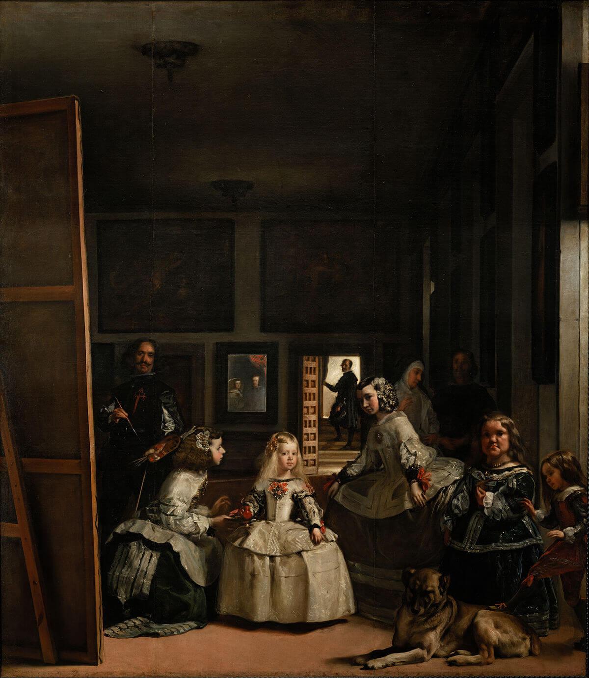 Barok sanat. Velazquez. Nedimeler.